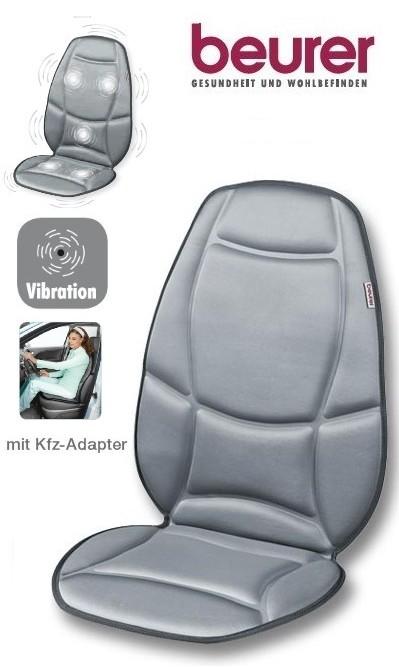 beurer mg 158 auto massagesitz sitzauflage w rme mg158 ebay. Black Bedroom Furniture Sets. Home Design Ideas