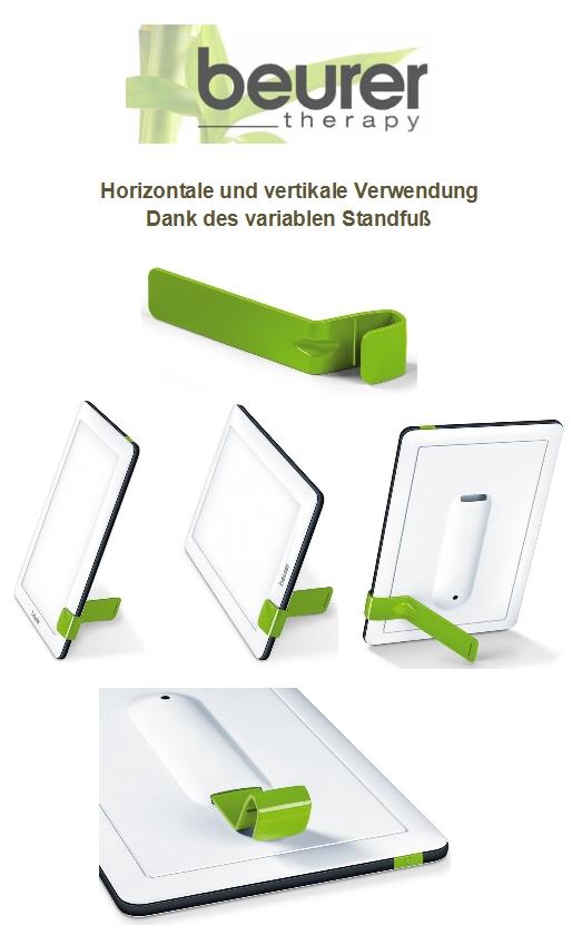 beurer tl 30 tageslichtlampe variabler standfuss. Black Bedroom Furniture Sets. Home Design Ideas