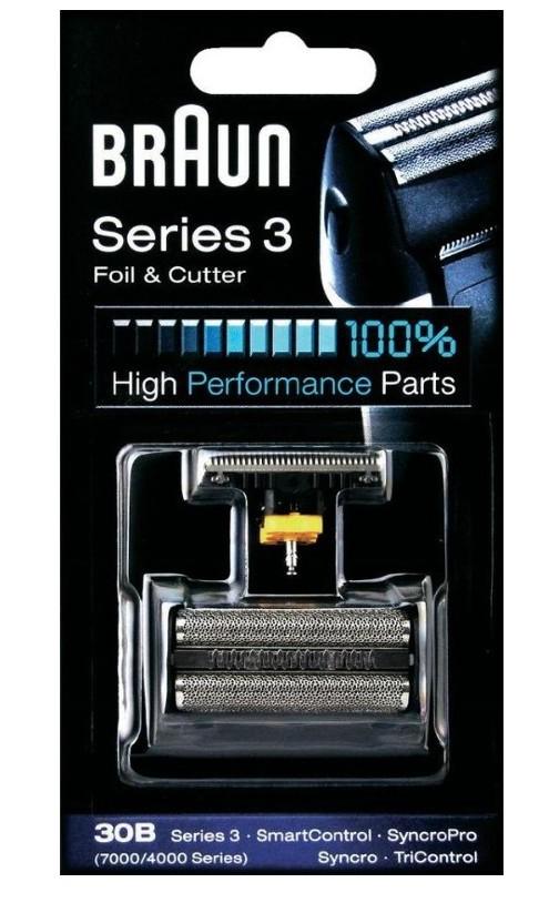 braun scherteile kombipack 30 b series 3 7000 4000 30b ebay. Black Bedroom Furniture Sets. Home Design Ideas