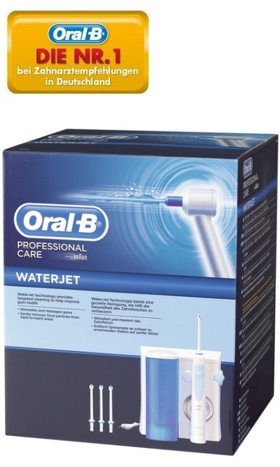 braun oral b professional care waterjet md 16 u munddusche md16 mundcenter ebay. Black Bedroom Furniture Sets. Home Design Ideas