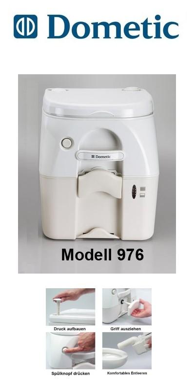 dometic portable toilette 976 wei 223 beige cingtoilette reisetoilette cing ebay