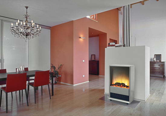 ewt optiflame elektrisches kaminfeuer elba optiflame effekt holz kamin ebay. Black Bedroom Furniture Sets. Home Design Ideas
