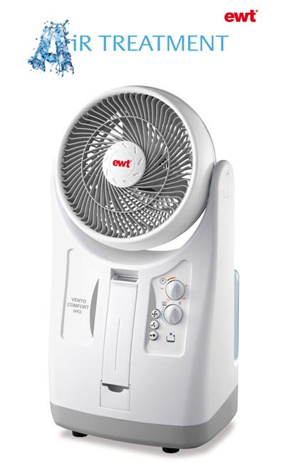 ewt vento comfort h20 ventilator mit wasserk hlung h 20 ebay. Black Bedroom Furniture Sets. Home Design Ideas