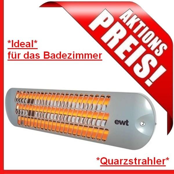 Ewt Quarzstrahler Strato IR 118 S Strahler Heizer Heizstrahler