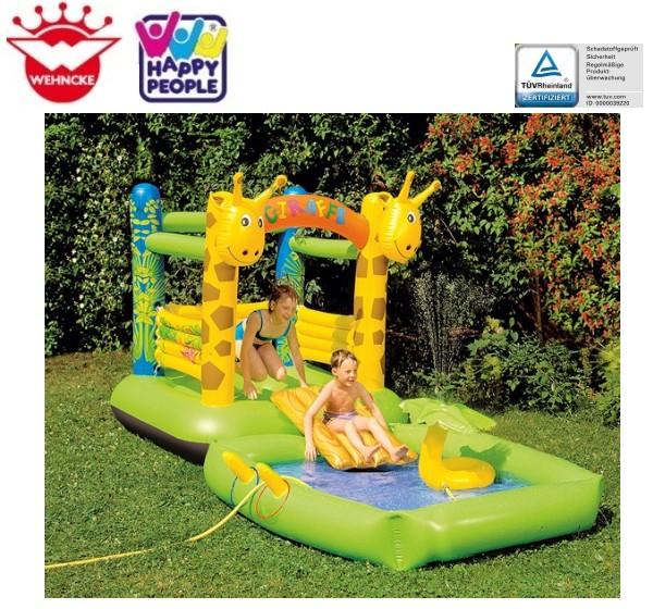 happy people 18246 wencke h pfburg giraffe 2in1 mit pool. Black Bedroom Furniture Sets. Home Design Ideas
