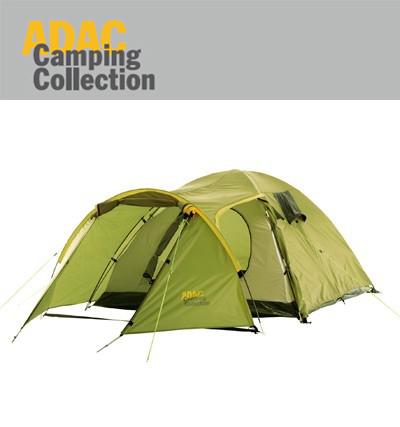 70060 adac camping collection 3 personen zelt. Black Bedroom Furniture Sets. Home Design Ideas