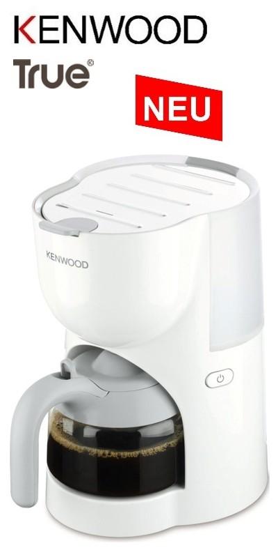 KENWOOD CM 200 True Kaffeemaschine weiß Single 4 Tassen