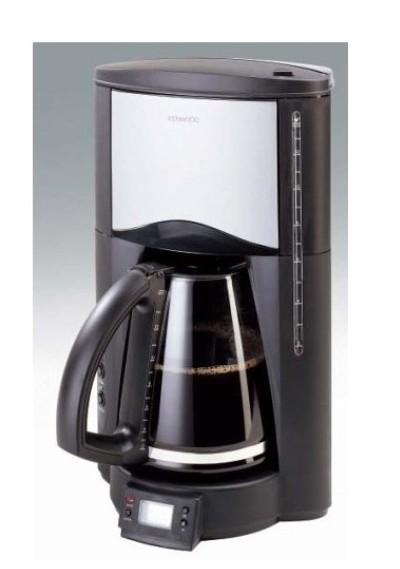 KENWOOD Kaffeemaschine CM 662 schwarzsilber Timer CM662 # Kaffeemaschine Kenwood
