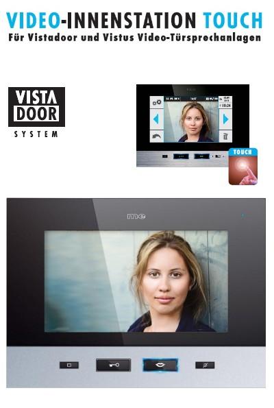 vistadoor vdv 707 ts innenstation touch monitor u. Black Bedroom Furniture Sets. Home Design Ideas