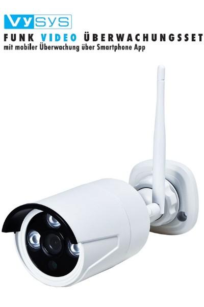 m e vysys 1010 w funk video berwachungsset mobile kamera. Black Bedroom Furniture Sets. Home Design Ideas
