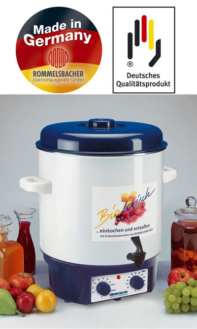 Rommelsbacher Glühwein  und Einkochautomat KA 1804 KA1804  ~ Entsafter Und Einkochautomat