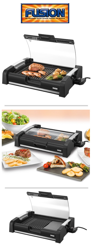 UNOLD 58535 BARBECUE Edel Tischgrill Elektrogrill Barbecuegrill Grill