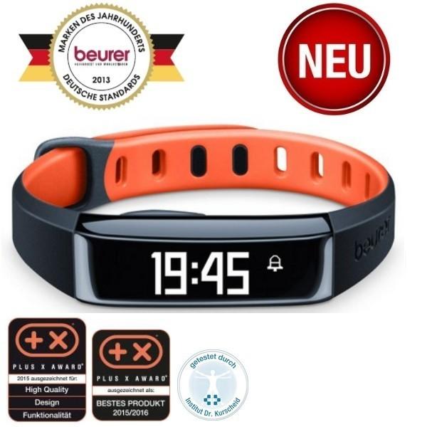 Beurer AS 80 C Aktivitätssensor HealthManager Schwarz/Orange