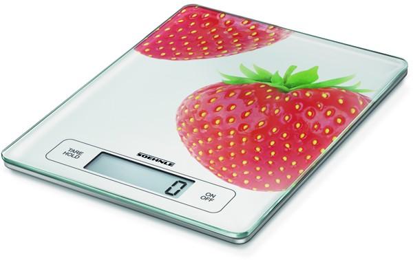 Soehnle 66312 Page Profi Küchenwaage Fresh Fruits Erdbeere