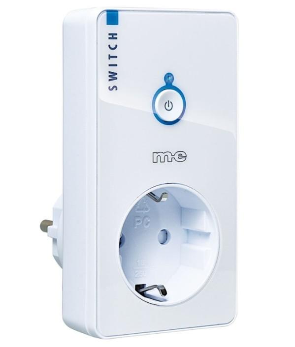 M-E CUVEO CR-S2000-W Funk-Steckdose Schalter für den Innenbereich WEISS