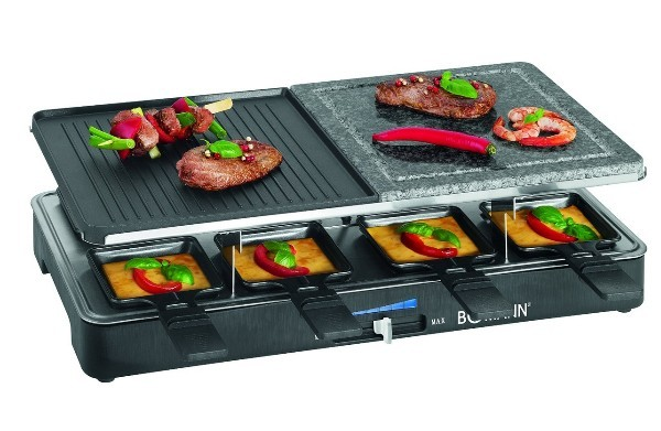 Bomann RG 2279 CB 2in1 Raclette-Grill