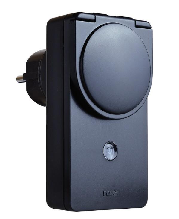 M-E CUVEO CR-SO2000-S Funk-Steckdose Schalter für den Aussenbereich SCHWARZ