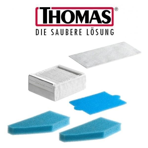 Filter-SET für THOMAS 99 AQUA Ersatzfilter für Staub und Waschsauger 787241